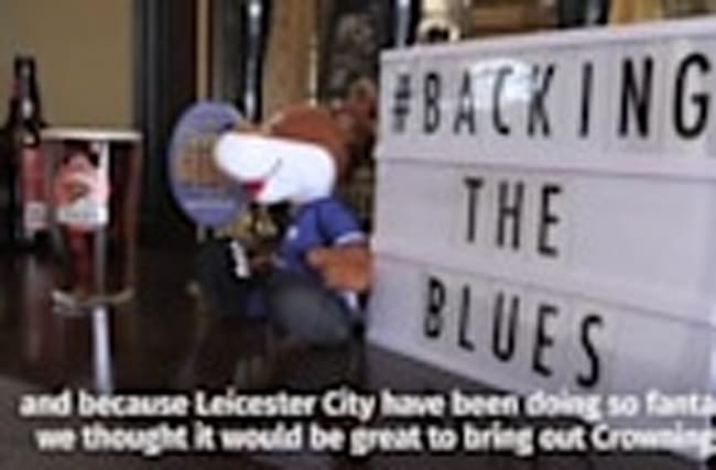 Leicester brewery celebrate football team's success