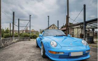 Riviera Blue 1995 Porsche 911 GT2 sells for £1,848,000