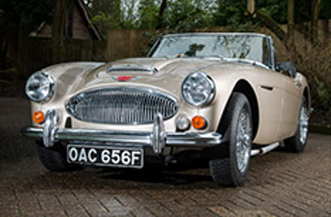 Last Austin Healey 3000 set to fetch bumper auction price