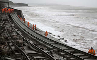 Rail delays and cancellations as terrible storms hit UK