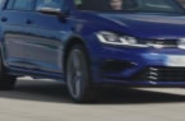 Der neue Volkswagen Golf R - Fahrszenen