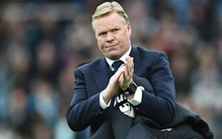 Koeman eyeing Champions League with Everton
