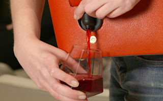 This epic wine purse lets you get your drink on anywhere!