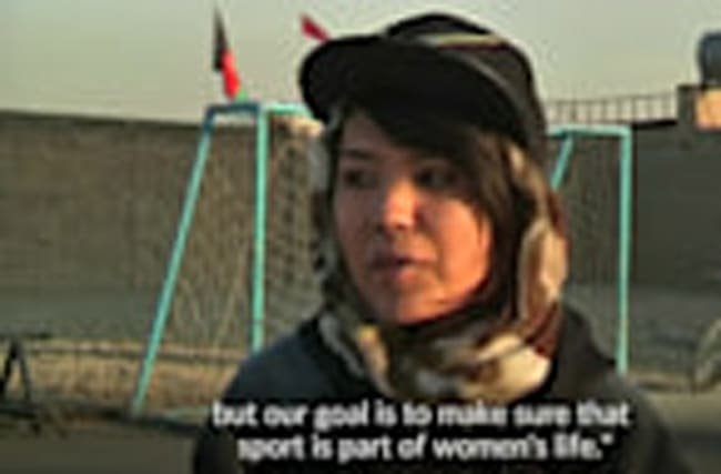 Afghanistan's women escape violence through wheelies