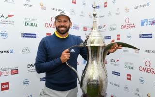 Garcia eases to Dubai victory