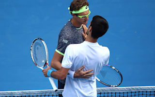 King Novak dethroned by special display