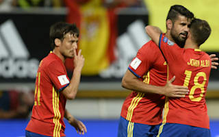 Spain 8 Liechtenstein 0: Costa silences critics in rout