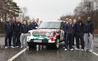 Team building with the England Six Nations rugby team and Land Rover