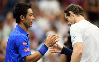 Nishikori stuns Murray at US Open