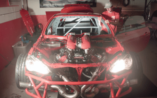 This Ferrari-engined Toyota GT86 sounds absolutely incredible