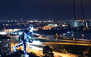 Video: Lexus' strobe-light extravaganza