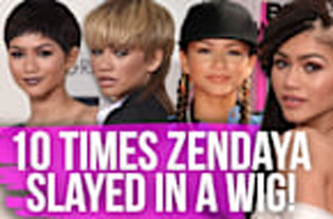 10 Times Zendaya Slayed in a Wig!