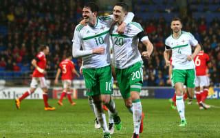 Northern Ireland v Slovenia: Cathcart eyes international history in Euro warm-up