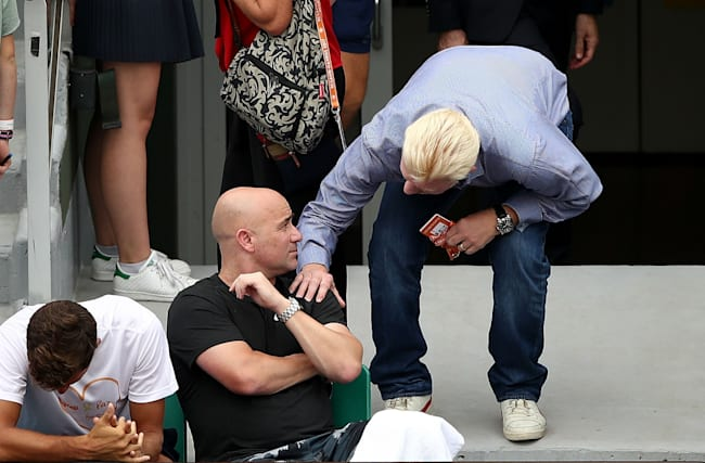 French Open Diary: Agassi falls short in fashion stakes as champagne flows in sweltering Paris