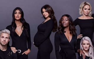 Baby bump on show as Cheryl helps launch self-worth campaign