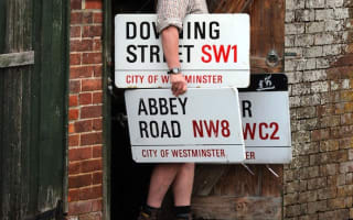 Famous London street signs go under the hammer