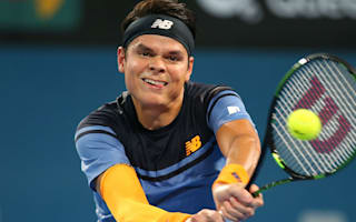 Raonic takes Brisbane crown from Federer