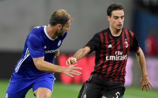 Montella: AC Milan controlled Chelsea