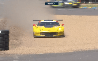 Le Mans driver throws away lead on last lap of 24-hour race