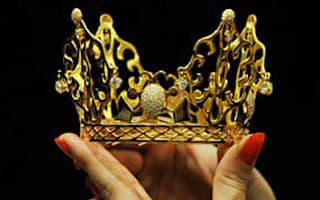 Beckham wedding tiara for sale