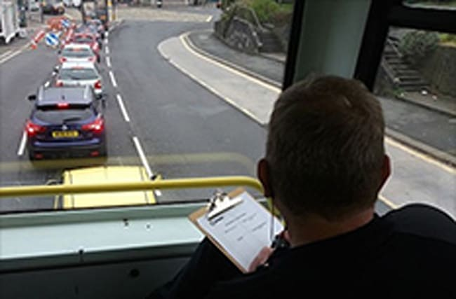 Police using double decker buses to secretly spot bad drivers
