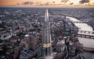 Randy couples having sex 800ft up The Shard