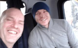 Council gritter driver helps Sir Chris Hoy after car crash