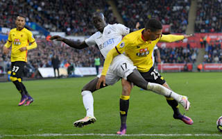 Swansea City 0 Watford 0: Encouraging signs, but no win for Bradley