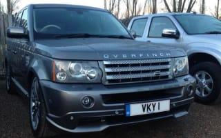 Midlands police to crack down on illegal car registration plates