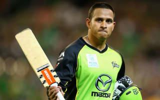 Khawaja inspires Thunder to Big Bash glory