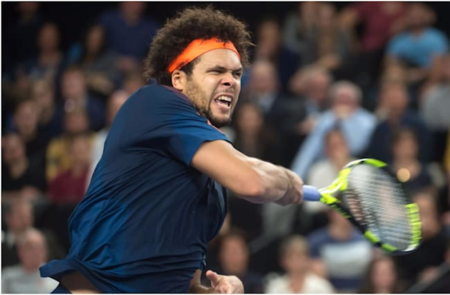 Tsonga sees off Pouille to clinch third Open 13 title