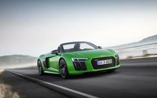 Audi unveils R8 Spyder V10 Plus