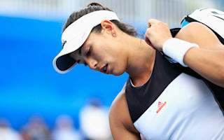 Strycova routs Muguruza, Kerber grinds out victory