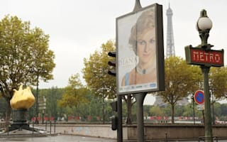Outrage as Diana film poster placed at fatal crash site in Paris