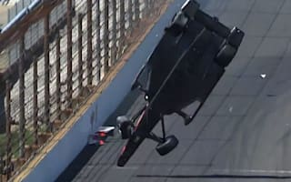 Video: IndyCar driver walks away from terrifying crash