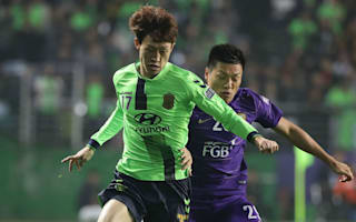 Al Ain 1 Jeonbuk Motors 1 (2-3 agg): Missed Douglas penalty decides final
