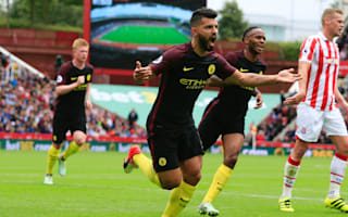 Stoke City 1 Manchester City 4: Aguero and Nolito doubles keep Guardiola's winning run intact
