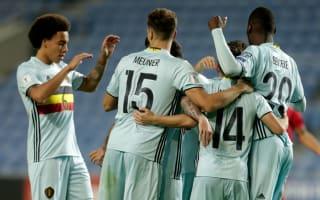 Gibraltar 0 Belgium 6: Benteke breaks fastest goal record, scores hat-trick in rout