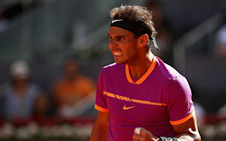 Gritty Nadal edges delayed Fognini encounter