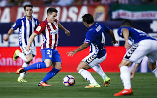 Atletico Madrid 1 Alaves 1: Hosts denied in dramatic finale