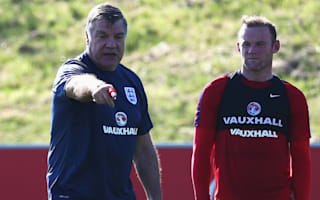Rooney praises enthusiasm of fallen Allardyce