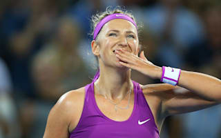 Azarenka routs Kerber to end trophy drought