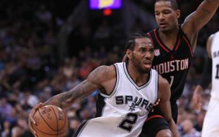 Spurs level Rockets series, Cavs into 2-0 lead