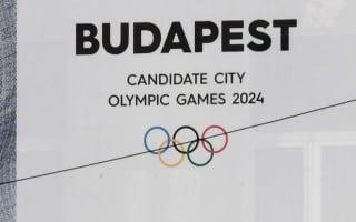 Budapest to withdraw Olympic bid
