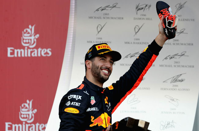 Ricciardo stunned by victory in 'crazy race'