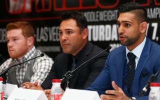 Froch lauds 'ballsy' Khan for taking on Alvarez