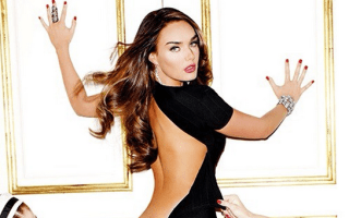 F1 chief Bernie Ecclestone's daughter strips off for Playboy