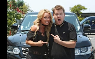 Britney Spears sings one of her biggest hits with James Corden on Carpool Karaoke preview