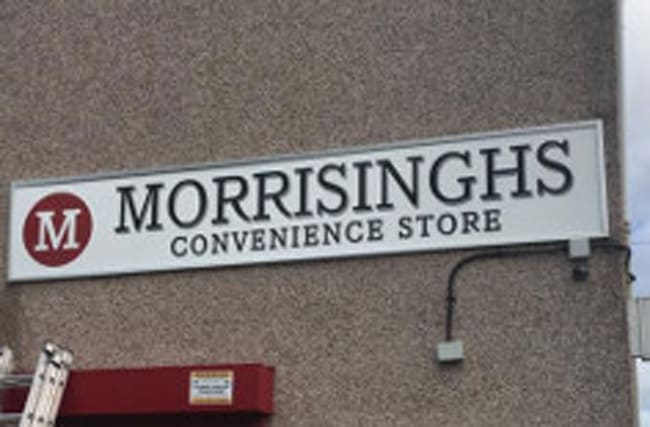 Store rebranded as 'Morrisinghs' after 'Singhsbury's' legal threat