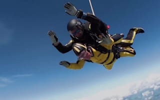 D-Day veteran, 101, 'over the moon' after claiming skydive record